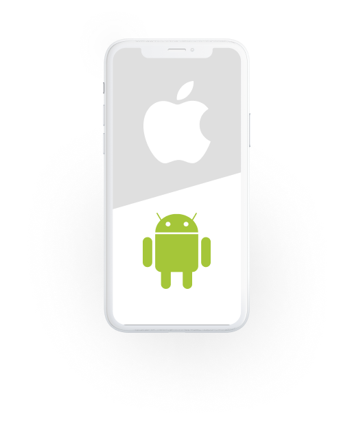 Android or iOS apps